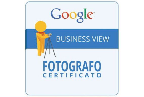 fotografo certificato google business view